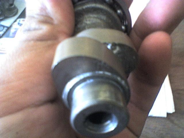 Meningkatkan kompresi kita custom piston agar lebih memiliki dome