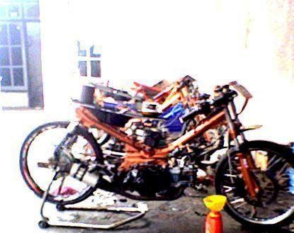Modifikasi Kereta Yamaha