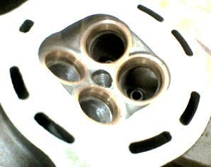 Ported Cylinder Head YAMAHA
