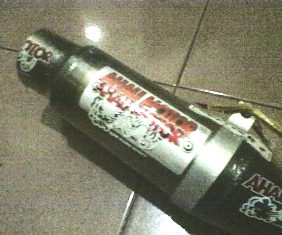 knalpot AHAU Jupiter MX