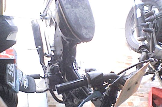 Gambar Foto Motor drag modifikasi motor revo