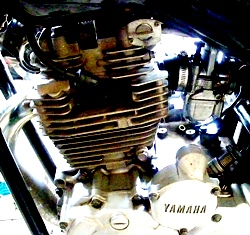 Koso 34mm di Yamaha Scorpio Z