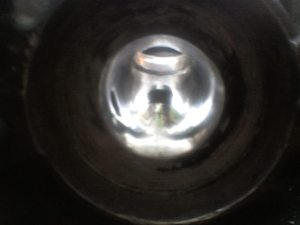 EXHAUST SIDE POLISHED BY R.A.T