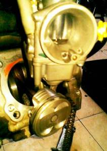 Bore Up Kit MX + Karbu