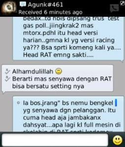 testimonial head sakti by rat