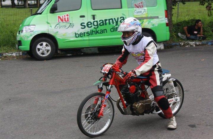 BOCAH SETTING  TUNING mesin Honda GL Drag     kelas sport 4 tak tune