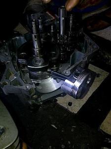 Belah mesin klx