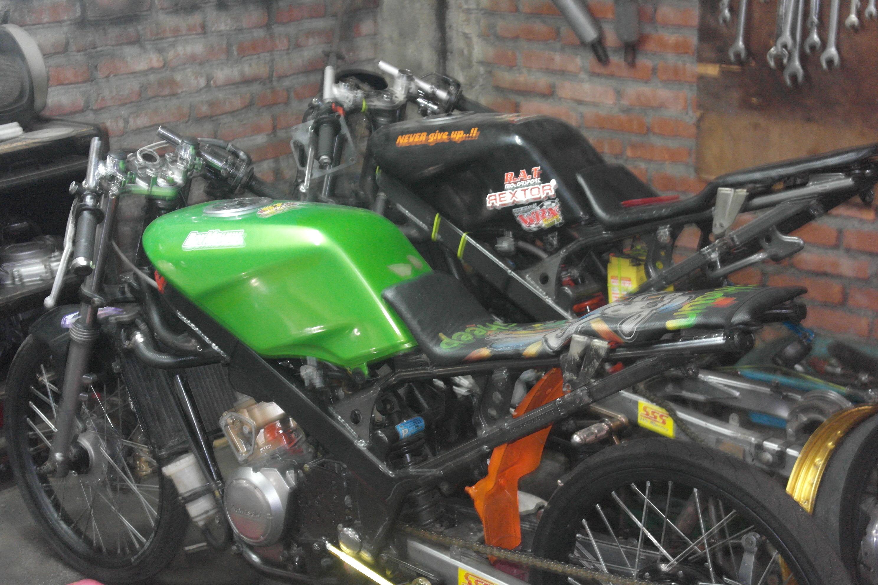 Foto ninja drag bike 50
